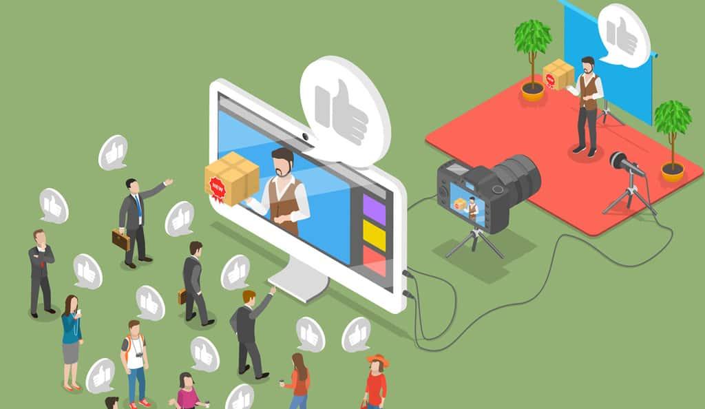 framing a video illustration