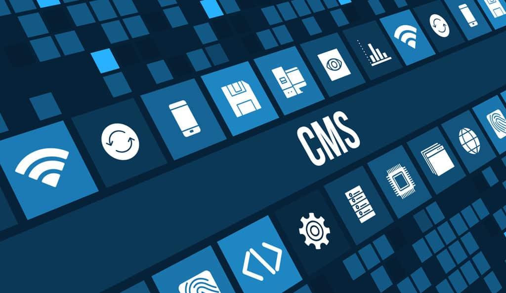 website content management illustration for WordPress CMS