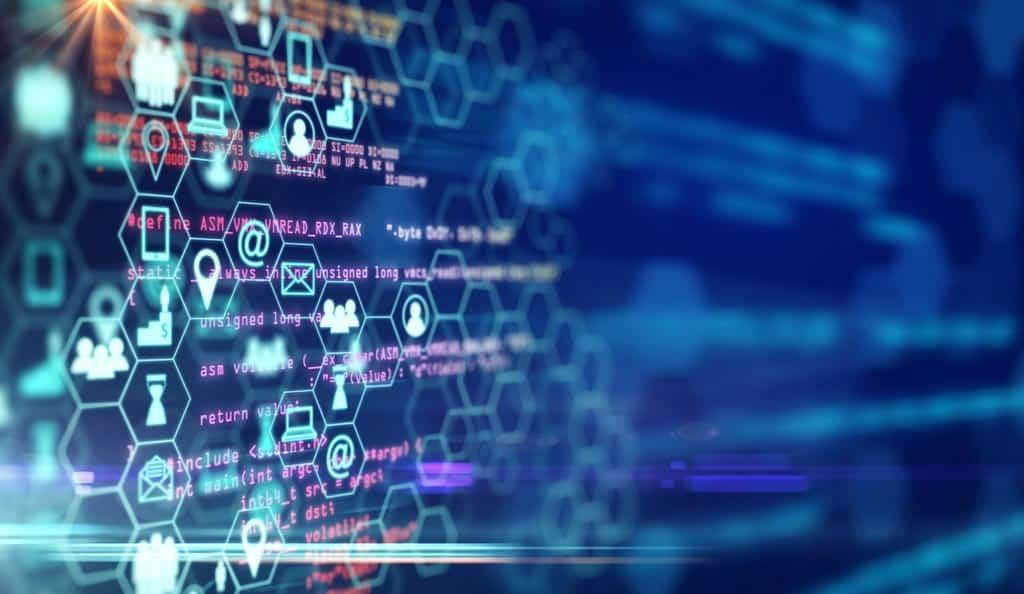 digital SEO images on a screen