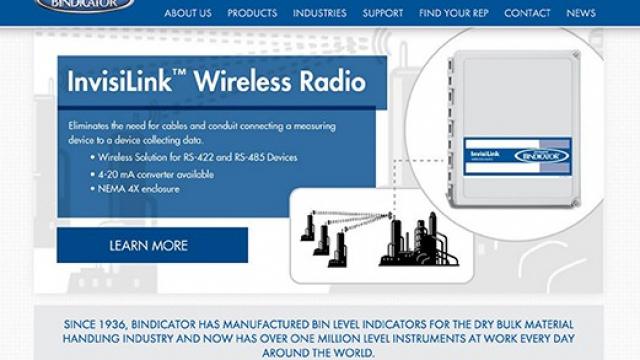 Bindicator-Website-Design