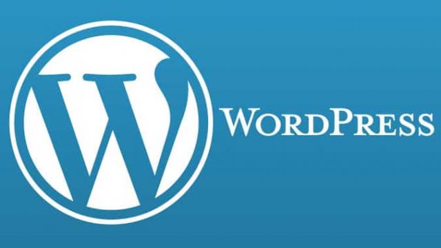 WordPress-blue-white-logo