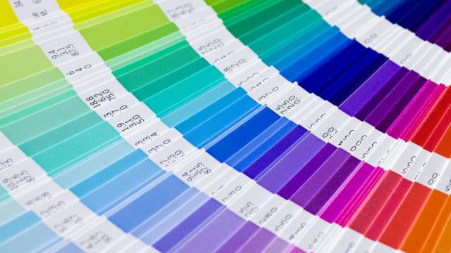 fan of Pantone colors