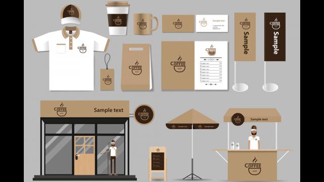 coffee logo designs illustration